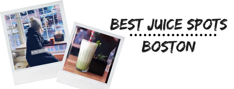 Best Juice Spots | Boston