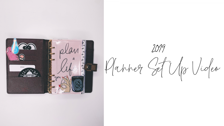2019 Planner Set Up Video