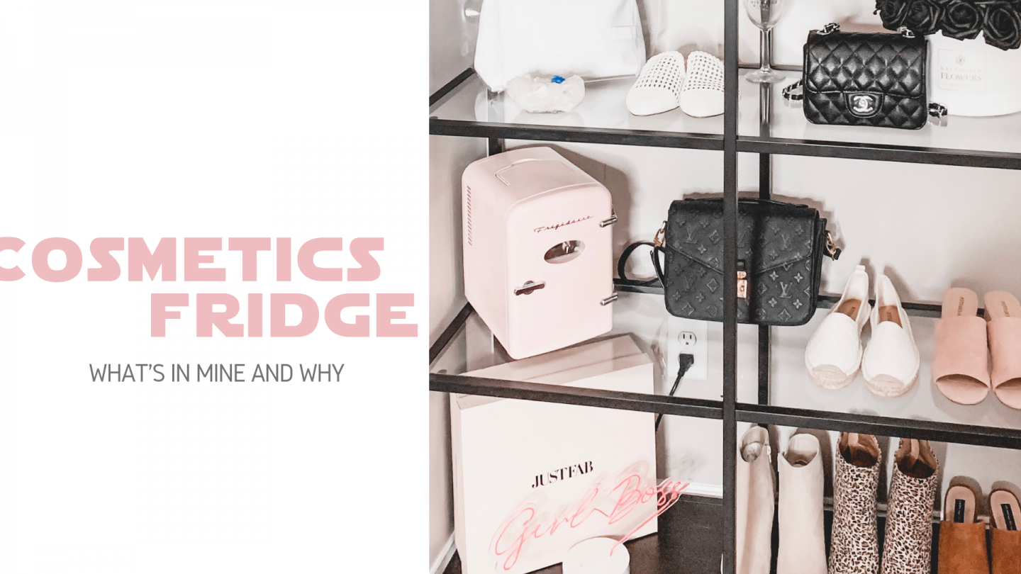 Cosmetics Fridge? Yeah – You Need One.