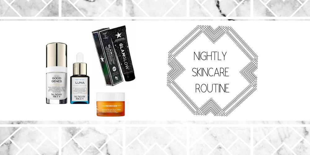 Skincare Routine (Night)