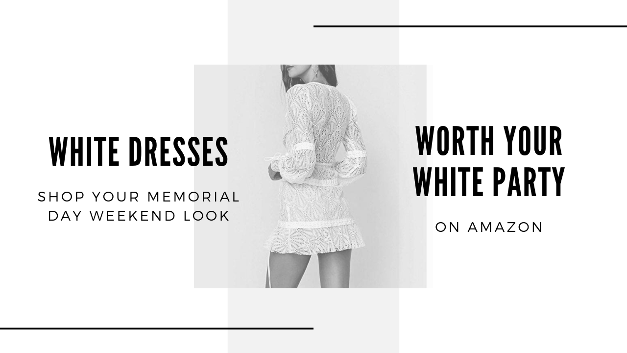 Perfect White Dresses (& they are all Amazon)