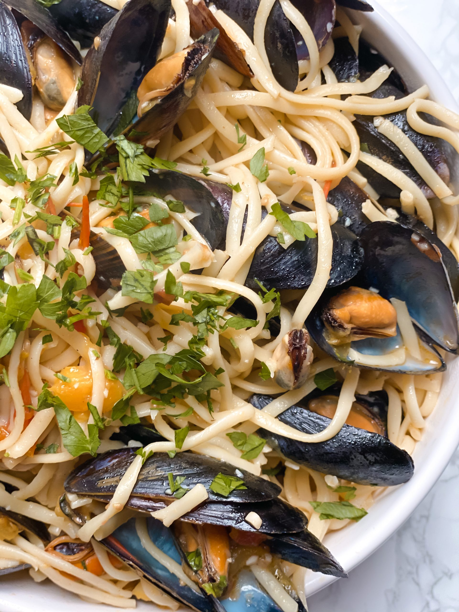 My Sunday Special, Linguine with Mussels
