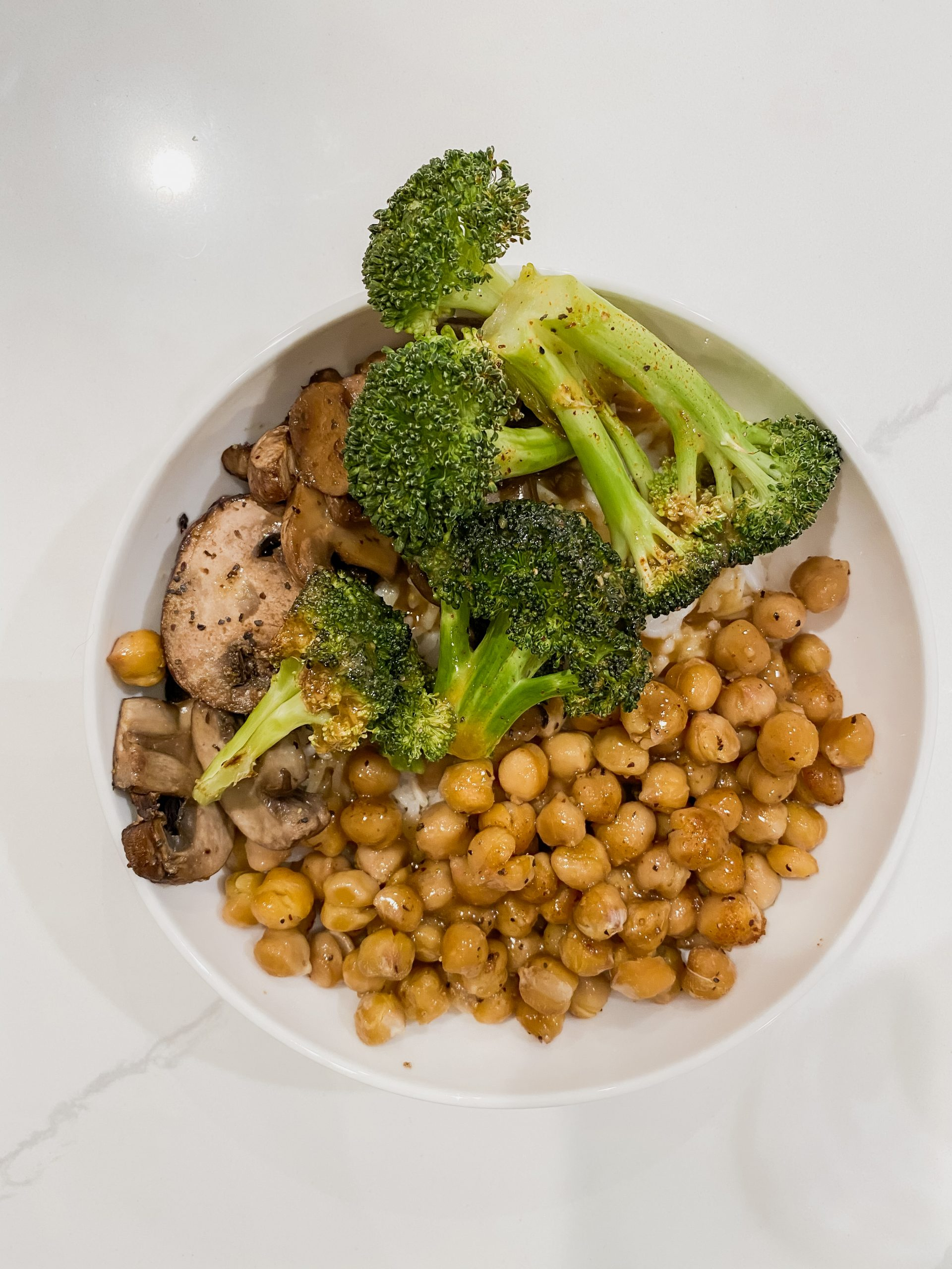 My Go-To Healthy Dinner in a Pinch | Chickpea Bowl