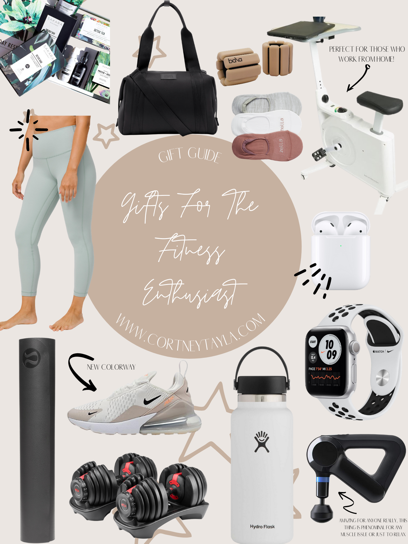 Gift Guide for the Fitness Babes in Your Life
