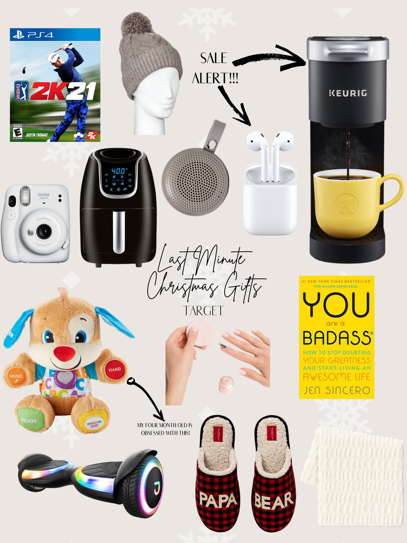 Gift Guide | Last Minute Gifts From Target You Can Get on Curb Side Pick Up